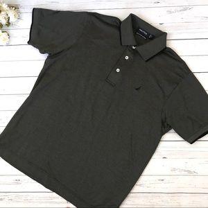 Black/Grey Nautica Polo Shirt